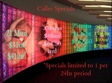 Phone sex specials