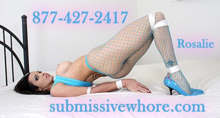 Submissive phone sex