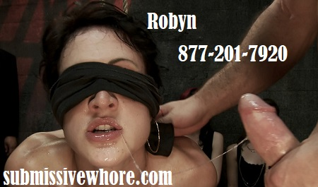 Submissive whore